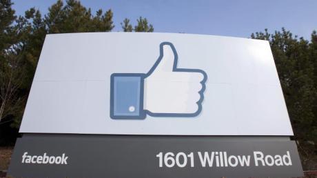 Facebook-Stammsitz im kalifornischen Menlo Park: Das weltgrößte Online-Netzwerk hatte Ende März 1,65 Milliarden aktive Nutzer pro Monat.