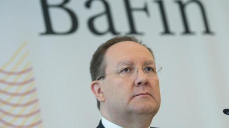 """Felix Hufeld, Präsident der Bundesanstalt für Finanzdienstleistungsaufsicht (BaFin), nannte den Wirecard-Skandal """"eine Schande""""."""