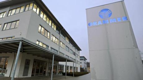 Die Firmenzentrale der Grammer AG in Amberg in der Oberpfalz. Foto: Armin Weigel/Archiv