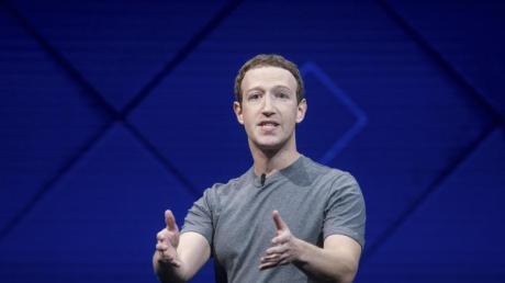Facebook-Gründer Mark Zuckerberg Mitte April bei der jährlichen Facebook-Entwicklerkonferenz F8.