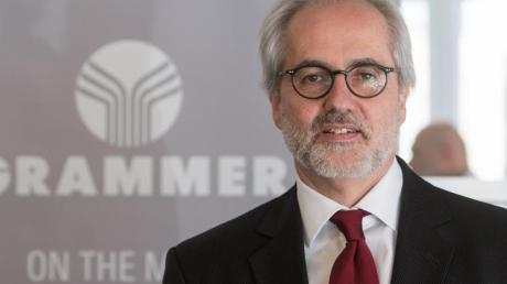 Aktionärsschützer, Politik und die IG Metall stärken der derzeitigen Grammer-Führung um Vorstandschef Hartmut Müller den Rücken. Foto: Armin Weigel/Archiv