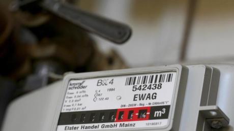Gaszähler in einer Wohnung: In Biberbach soll es bald mehr Erdgasanschlüsse geben.