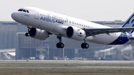 Ein Airbus A320neo: Investor Indigo könnte Airbus größten Einzelauftrag bringen. Foto: Guillaume Horcajuelo