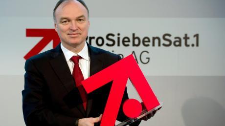 ProSiebenSat.1-Chef Thomas Ebeling rettete einst den schwer angeschlagenen Medienkonzern. Der befindet sich seit Monaten im Abwärtstrend. Die Aktie musste herbe Verluste hinnehmen.