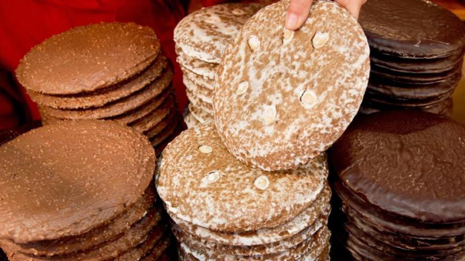 Gut ein Viertel der exportierten Leb- und Honigkuchen aus deutscher Produktion ging ins Nachbarland Österreich. Foto: Daniel Karmann/Symbolbild