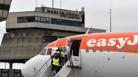 Easyjet bietet ab Sonntag von Tegel Verbindungen nach Frankfurt, Stuttgart, München und Düsseldorf an.