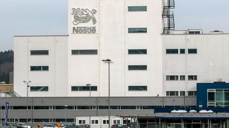 Im Nestlé-Werk in Biessenhofen im Ostallgäu wird hauptsächlich Babynahrung hergestellt.