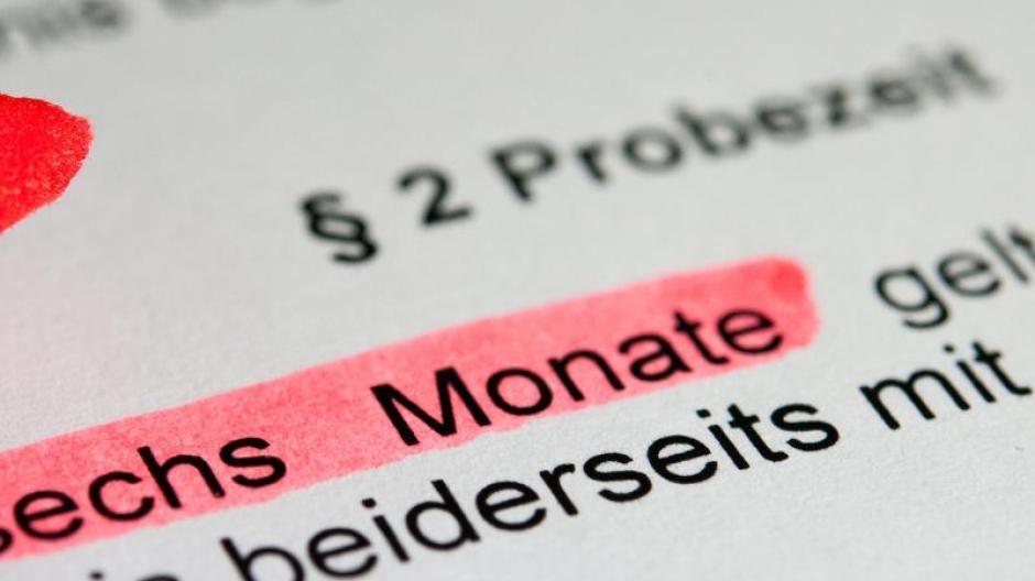 Urteil Der Woche Kündigung In Der Probezeit Minderung Des