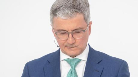 Der beurlaubte Audi-Chef Rupert Stadler sitzt seit drei Wochen in Untersuchungshaft in der JVA Augsburg-Gablingen.