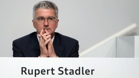 Seit gut zwei Monaten sitzt Rupert Stadler in U-Haft. Und dort bleibt er vorerst auch.