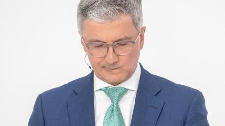 Audi-Chef Rupert Stadler wurde im Juni wegen Betrugsverdacht und Verdunkelungsgefahr im Zusammenhang mit dem Dieselskandal verhaftet.