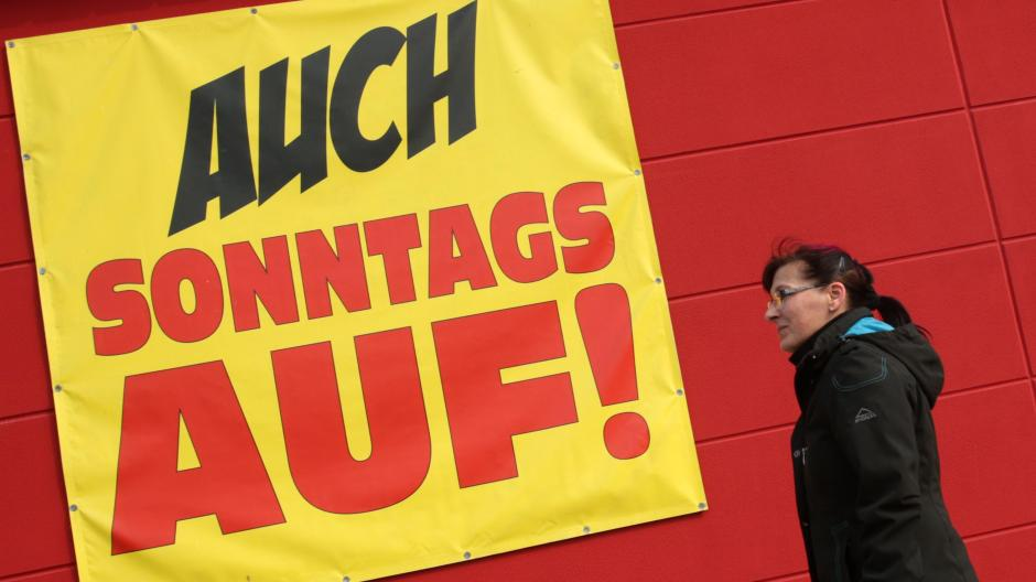 5428345fc63555 Kommunen dürfen in Bayern vier Sonntage für den Handel freigeben.  Allerdings sind die Voraussetzungen dafür zuletzt strenger geworden.