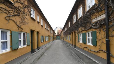 Die Fuggerei zählt zu den Besuchermagneten in Augsburg.