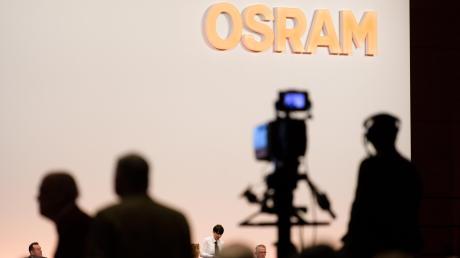 Osram-Chef Olaf Berlien musste sich bei der Hauptversammlung den Unmut der Aktionärsschützer anhören.