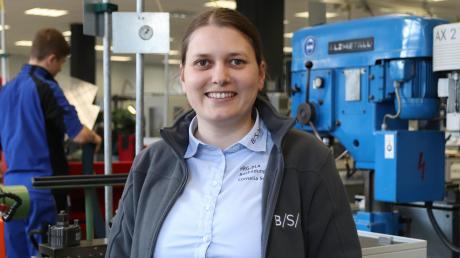 Einst fing Cornelia Schwarz als Auszubildende bei BSH Haushaltsgeräte an. Sie bildete sich weiter, machte noch einen Bachelor in Elektrotechnik. Seit zwei Jahren ist sie Ausbildungschefin.