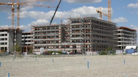 Platz für tausende Mitarbeiter sollen auf dem IN-Campus entstehen.