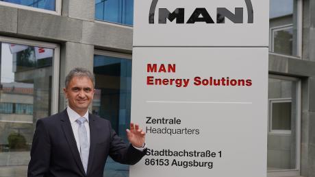 Uwe Lauber leitet den Großmotorenhersteller MAN Energy Solutions.
