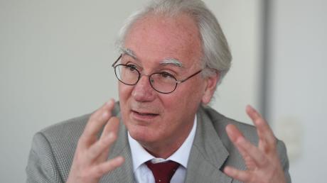 Derzeit erkrankt: IHK-Hauptgeschäftsführer Peter Saalfrank.