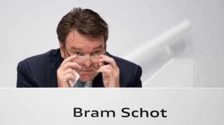 Audi-Chef Bram Schot steht an der Spitze des Ingolstädter Autobauers. Aber wie lange noch? Darüber hatte es immer wieder Gerüchte gegeben.
