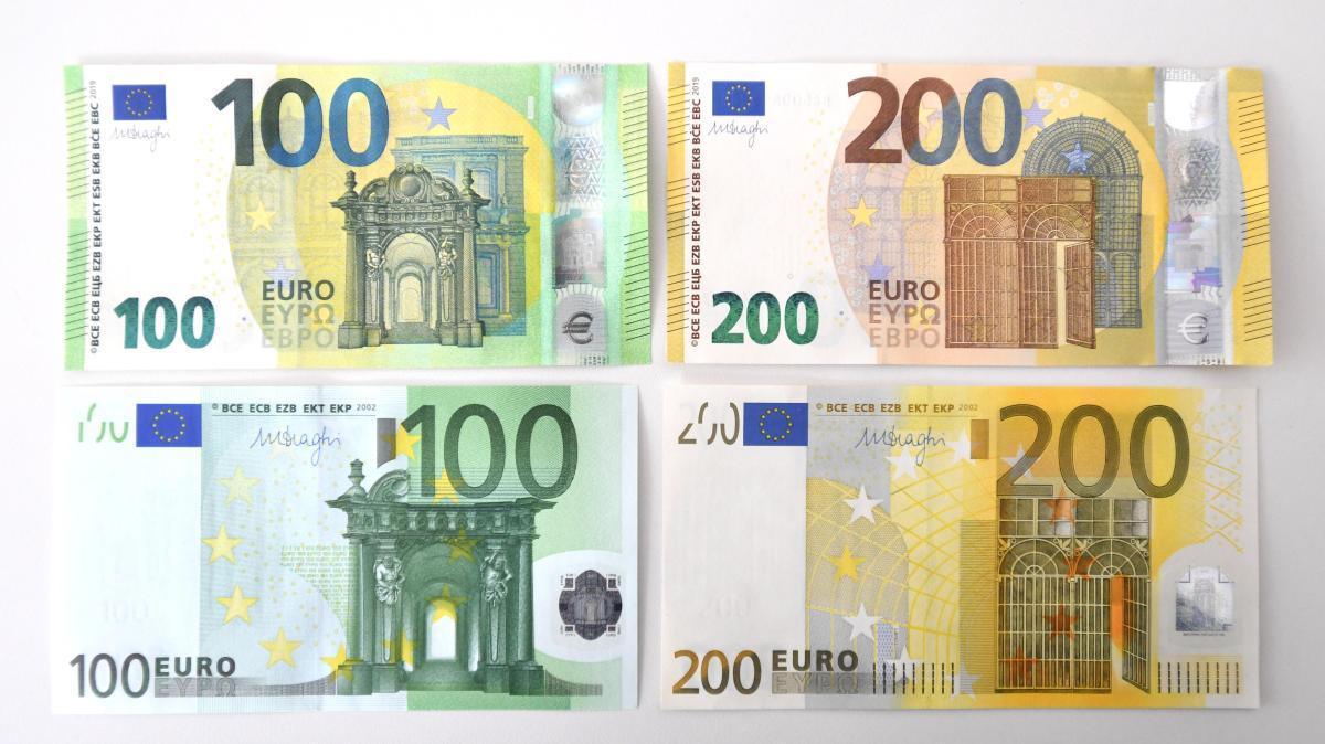 Hundert Euro Schein Neu