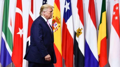 Lieber allein als gemeinsam: Kooperation gehört nicht zu den Stärken von US-Präsident Trump.
