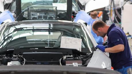 Allein bei Zulieferern stehen in Bayern bis zu 55.000 Arbeitsplätze auf dem Spiel.