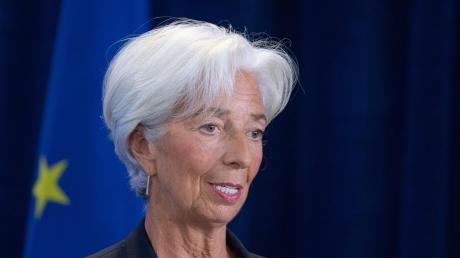 Christine Lagarde löst den bisherigen EZB-Chef Mario Draghi ab.