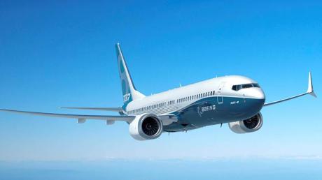 Das Flugzeug, mit dem sich Boeing in die Krise manövriert hat: die Boeing 737 Max.