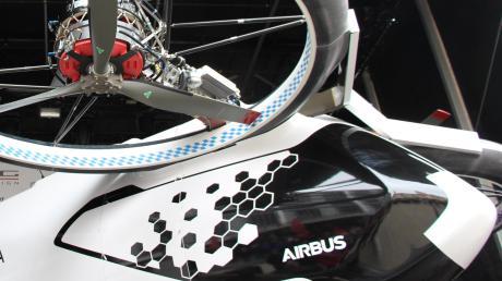 """Das Flugtaxi """"City Airbus"""": Ein Vorstoß aus Schwaben zeigt, wie man in der Region Künstliche Intelligenz und Lufttaxi-Produktion verbinden könnte."""