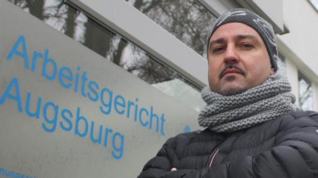Dem Lidl-Betriebsrat Aytekin Erayabakan wurde schon drei Mal gekündigt. Er wehrt sich.