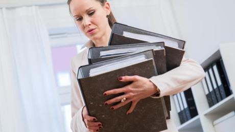 Alle Hände voll zu tun:So geht es einem Viertel der Arbeitnehmer oft.