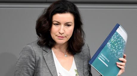 Ihr trauen die Bundesbürger digital nicht soviel zu: Dorothee Bär (CSU), Staatsministerin für Digitalisierung.