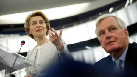 Ursula von der Leyen führt die EU-Kommission. Sie will den Klimaschutz voranbringen.