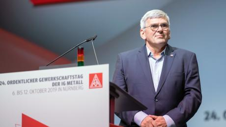 Jörg Hofmann, Erster Vorsitzender der IG Metall, stellt die Weichen für die anstehenden Tarifverhandlungen.