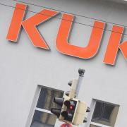Die Firma Kuka will in Augsburg Kurzarbeit beantragen.