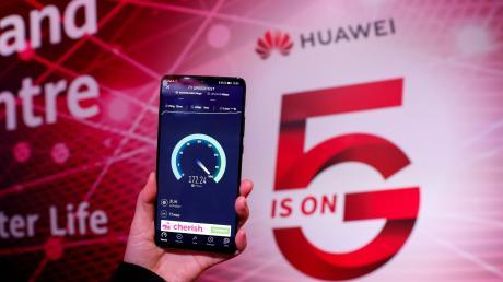 Soll die Bundesregierung auf Huawei beim 5G-Ausbau setzen?