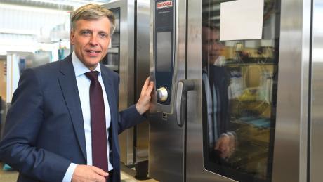 Der Vorstandsvorsitzende der Rational AG,Peter Stadelmann, sieht das Unternehmen für die Krise gut gerüstet.