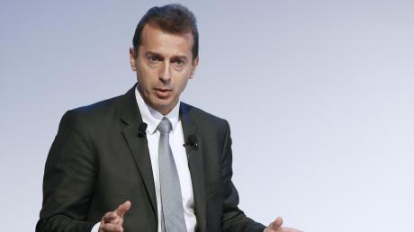 """Ein Satz, der nachhallt: """"Wenn wir nicht jetzt agieren, ist das Überleben von Airbus fraglich."""" Airbus-Chef Guillaume Faury ist tief besorgt."""