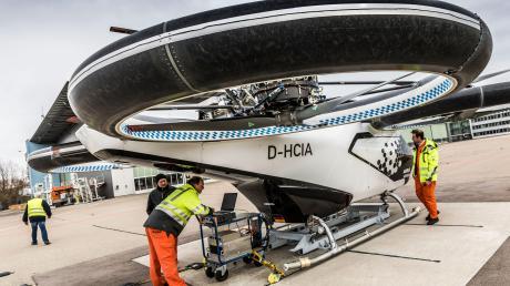 Die Geschäftsführung steht auch in schwierigen Corona-Zeiten hinter dem City-Airbus-Projekt.