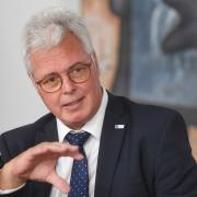 Andreas Kopton steht seit Anfang 2009 an der Spitze der Industrie- und Handelskammer Schwaben.