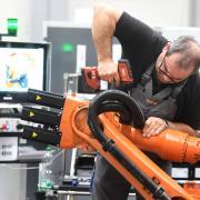 Der Maschinenbau ist wichtig für den Großraum Augsburg.