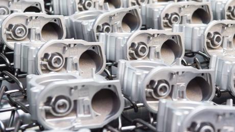 Die Zulieferbetriebe spielen in der Automobilindustrie – hier Druckgussteile aus Thüringen – eine große Rolle: Sie sollen mithilfe des Staates durch die Corona-Krise geführt werden.