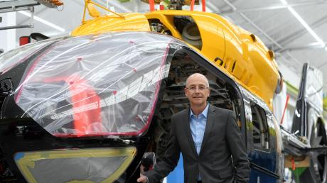 """""""Die Krise ist jetzt da und es muss schnell gehen, doch staatliche Aufträge ziehen sich zu sehr in die Länge"""", warnt Wolfgang Schoder von Airbus Helicopters."""