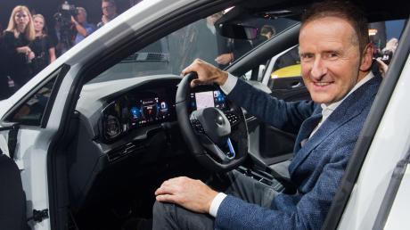 Herbert Diess sucht wieder die Konfrontation mit den mächtigen VW-Betriebsräten.