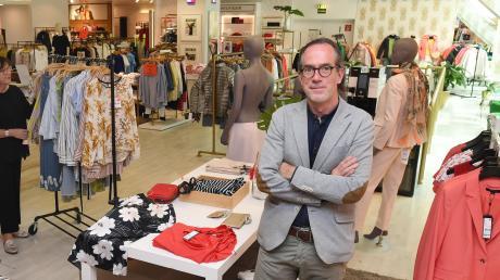 Marcus Vorwohlt ist Geschäftsführer des Modehauses Rübsamen mit mehreren Filialen in der Region. Unser Bild entstand im ersten Lockdown.
