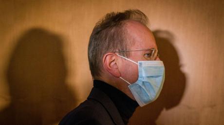 Ex-Wirecard-Chef Markus Braun ist in Untersuchungshaft. Dieses Bild entstand am Rande des Bundestags-Untersuchungsausschusses.