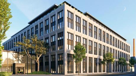 Apple hat mehrere Standorte in München. Das neue Gebäude in der Karlstraße ist derzeit noch eine Baustelle und soll bis Ende 2022 bezogen werden.