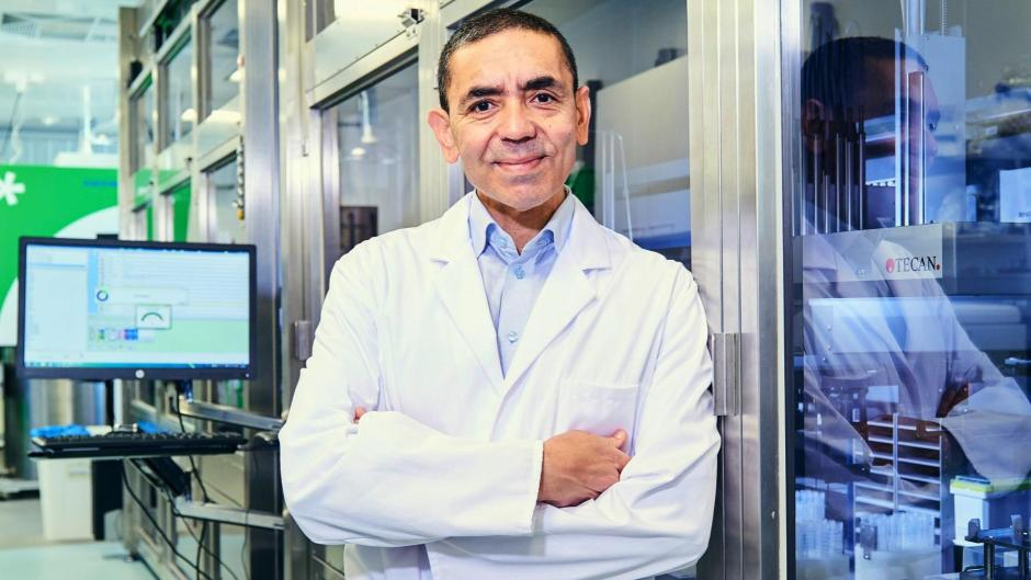 """""""Wir haben mit der mRNA die Tür zu einer neuen Welt von Arzneimitteln geöffnet"""", sagt Biontech-Gründer Ugur Sahin"""