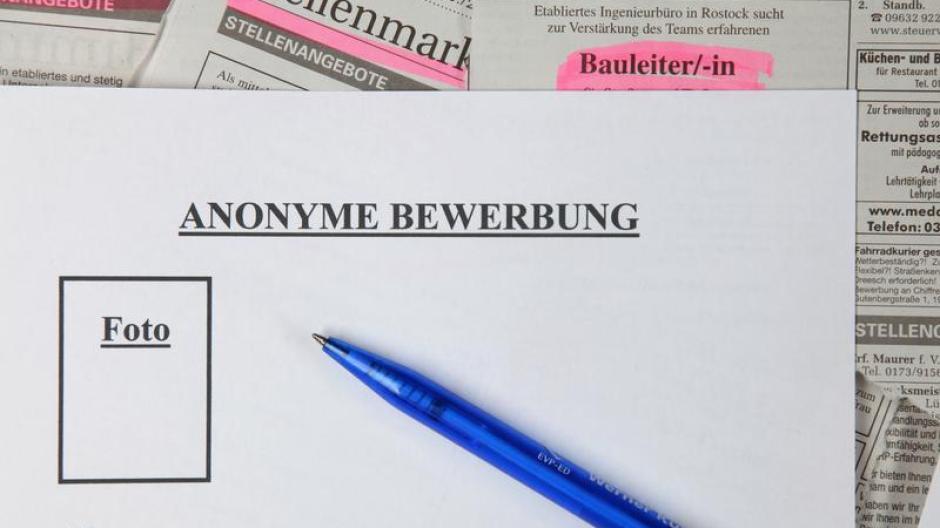 Anonyme Bewerbungen Nur Die Qualifikation Zählt Wirtschaft
