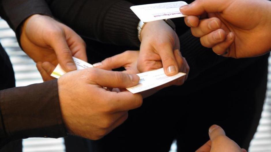 Beruf Visitenkarten Müssen Tipptopp Sein Wirtschaft